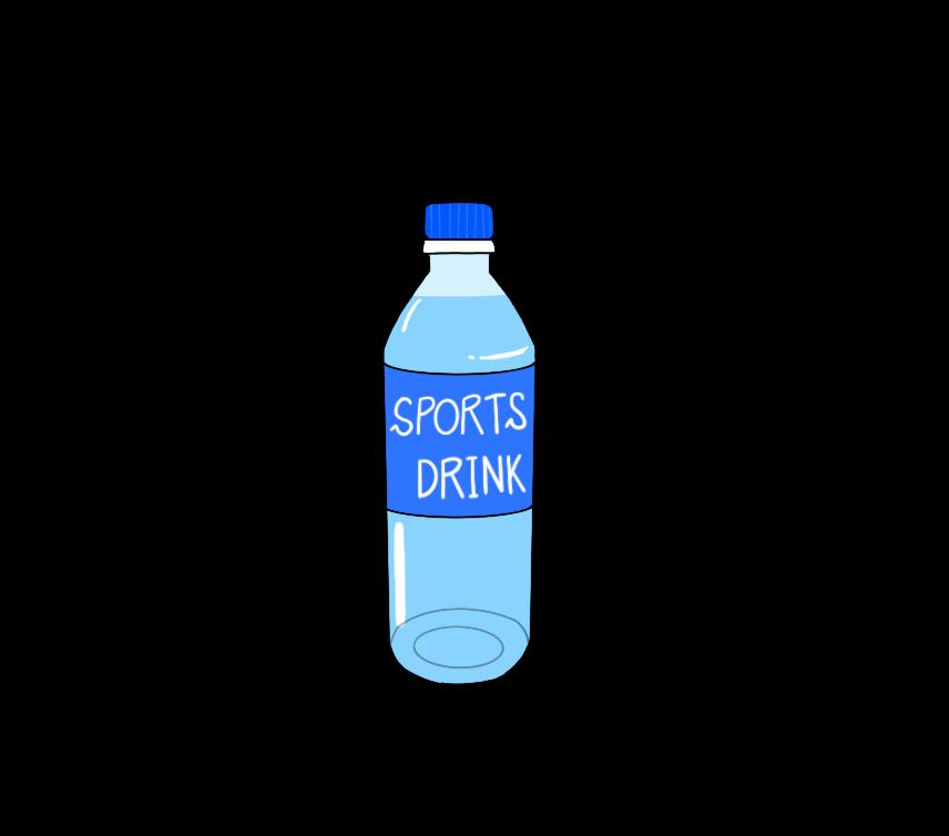 スポーツドリンクのイラスト