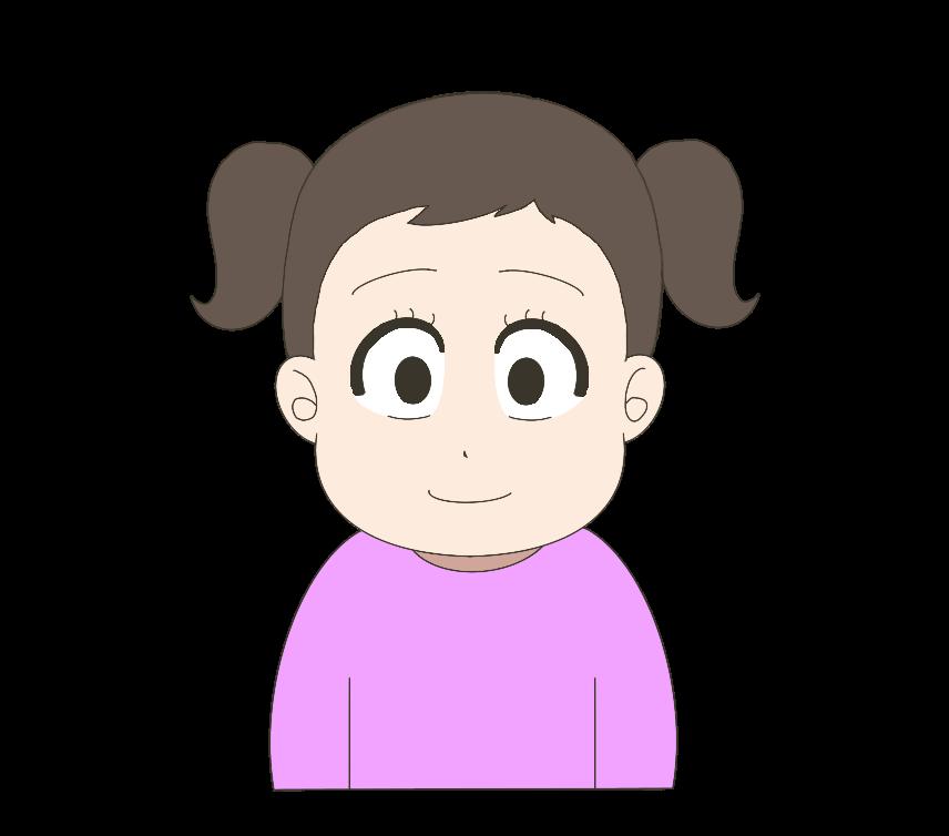 子供(女の子)のイラスト