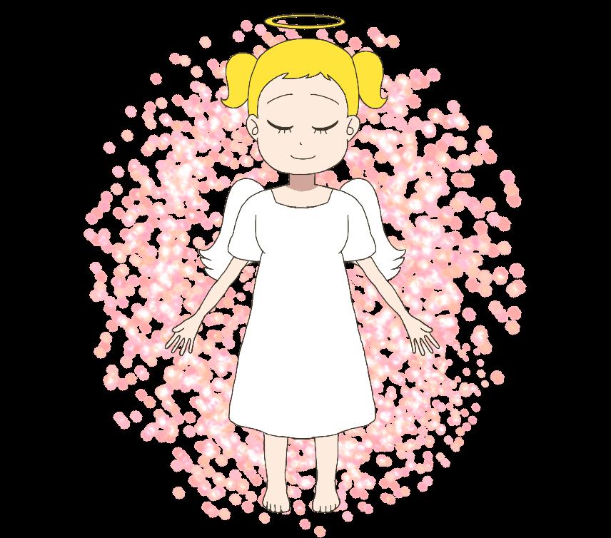 天使のイラスト