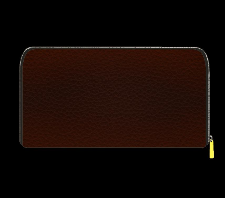 茶色い長財布のイラスト