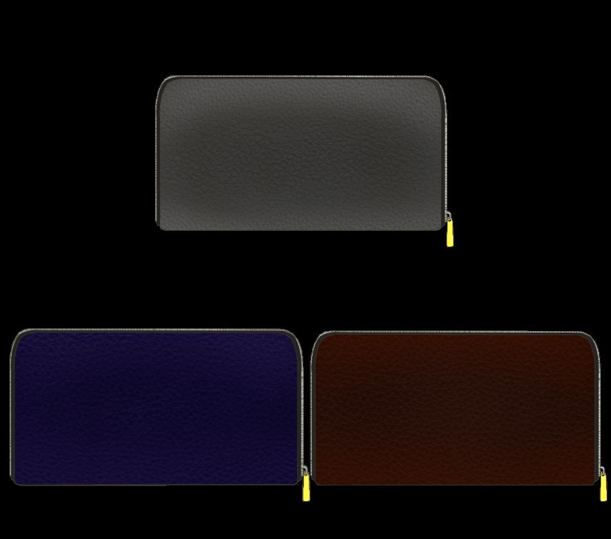 落ち着いた色の長財布のアイキャッチ