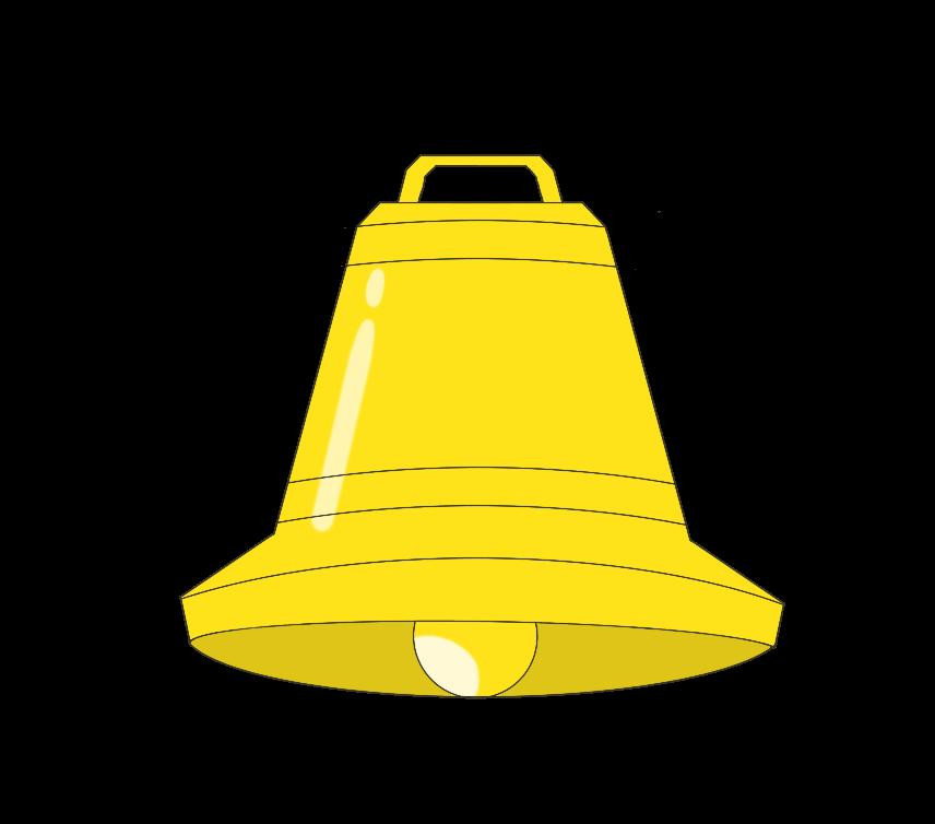 鐘のイラスト