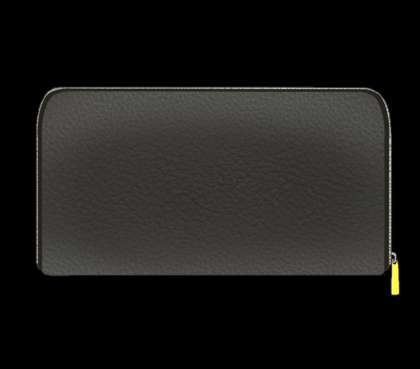 黒い長財布のイラスト