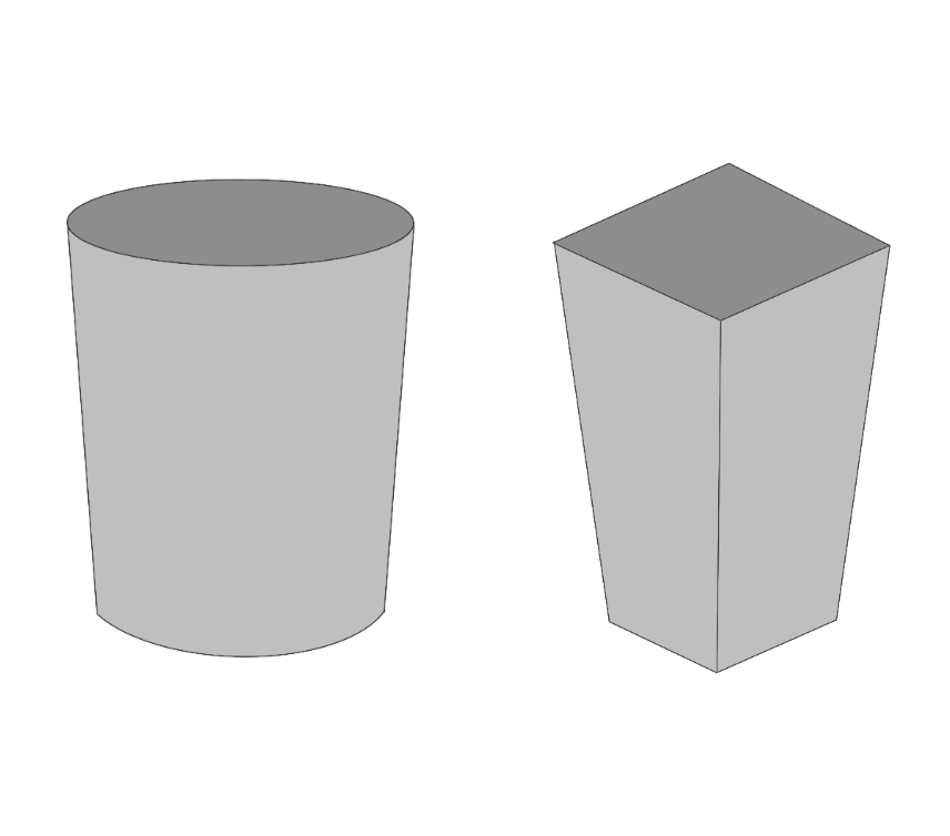ゴミ箱(丸型、四角)のアイキャッチ