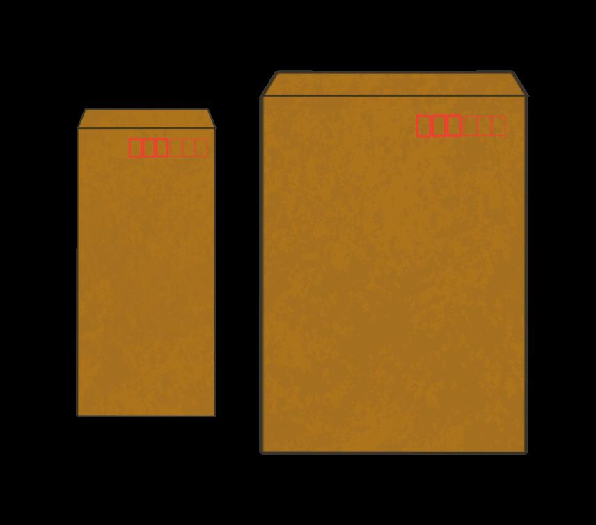 茶封筒(長3、角2)のアイキャッチ